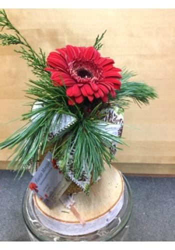 Arrangement floral  de Noël