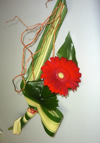 Bouquet d'un gerbera