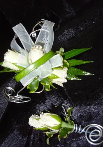 Bracelet et boutonnière